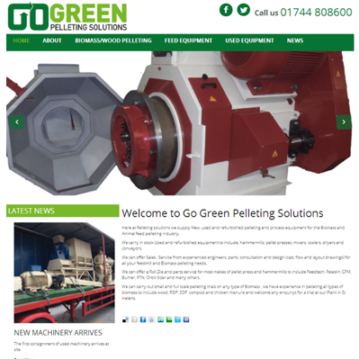 Go Green Pelleting Solutions