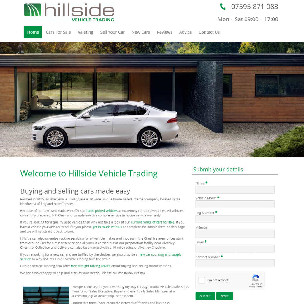 Hillside Vehicle Trading