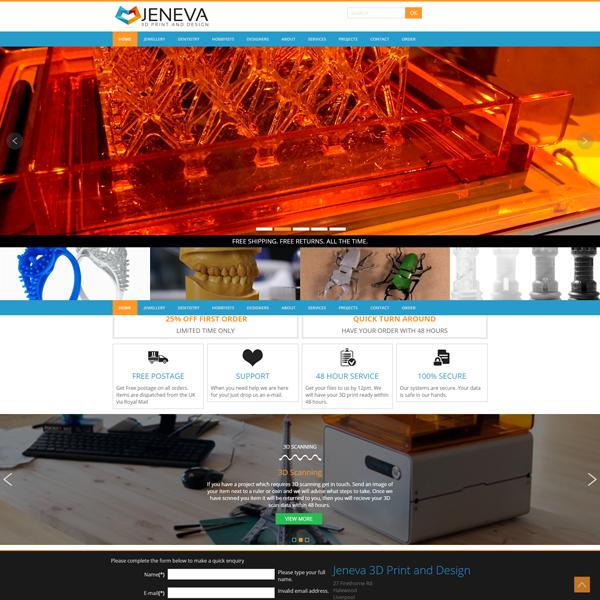 Jeneva 3D Print and Design