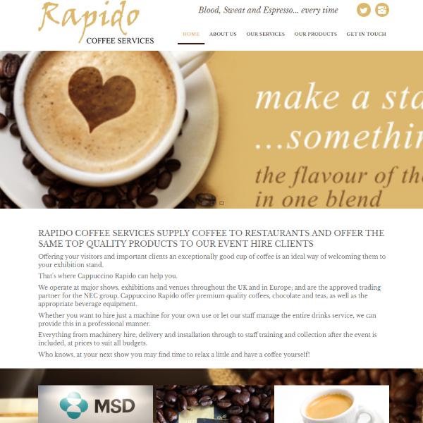 Rapido Coffee Services