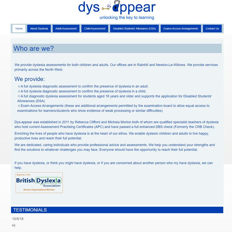 Dys-Appear